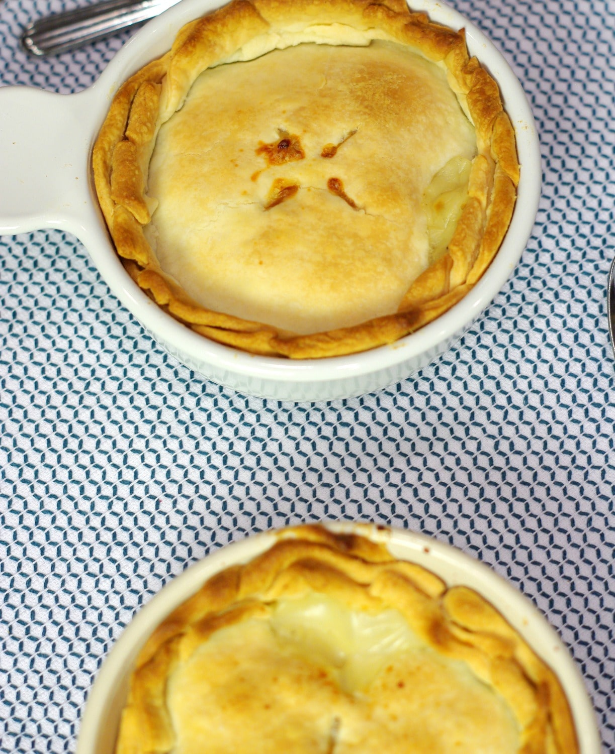 Fall Dinner Ideas Meal Plan individual chicken pot pies