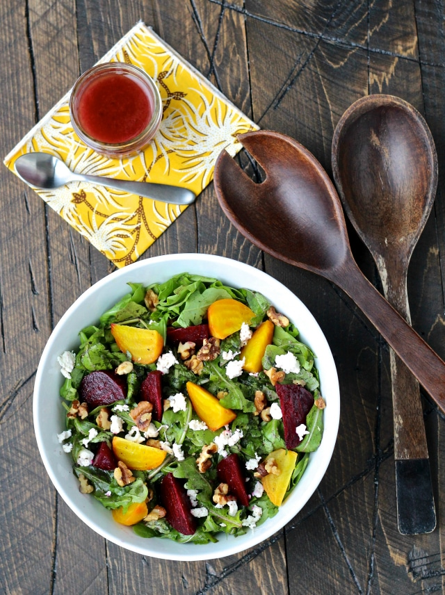 Healthy Vegetarian Recipe Ideas from The Foodie Physician beet salad