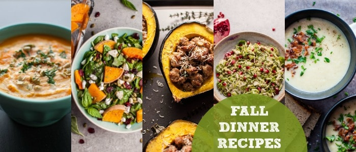 Fall Dinner Recipes Meal Plan featuring Salt & Lavender