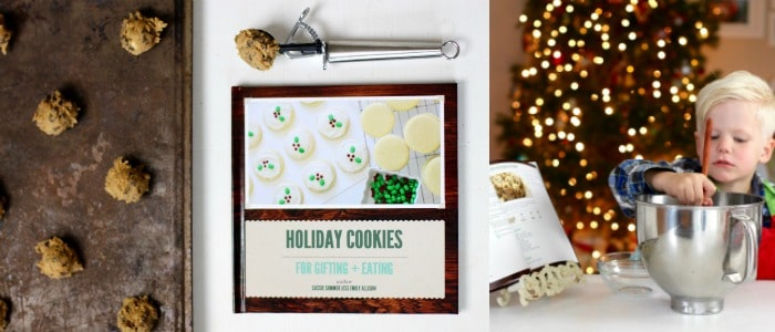 Personalized Holiday Gift Idea with Cookbook Create + Chocolate Chip Cookie Recipe