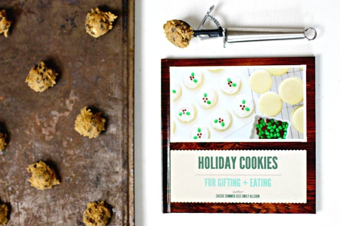 Personalized Holiday Gift Idea chocolate chip cookies