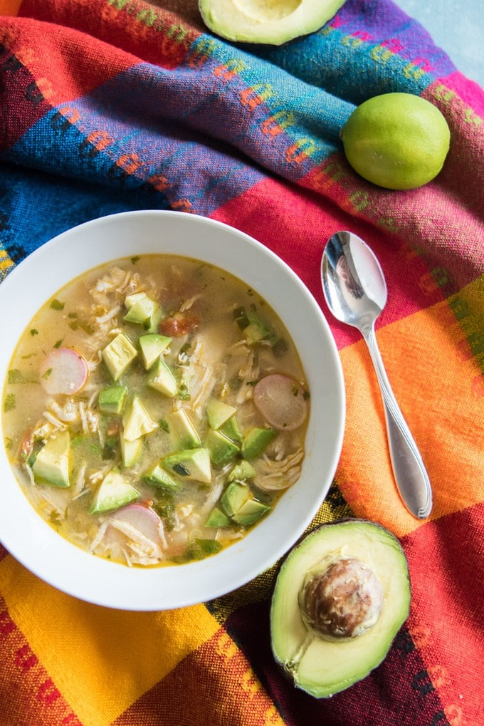 Ideas for Dinner Chicken Avocado Lime Soup