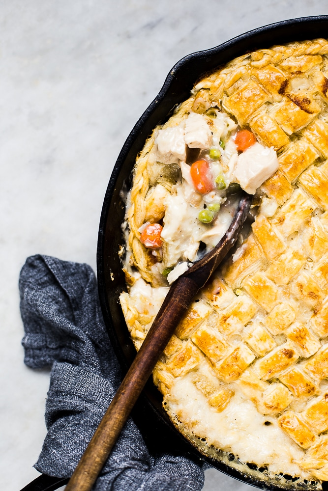 Recipes for Winter from The Modern Proper- skillet chicken pot pie