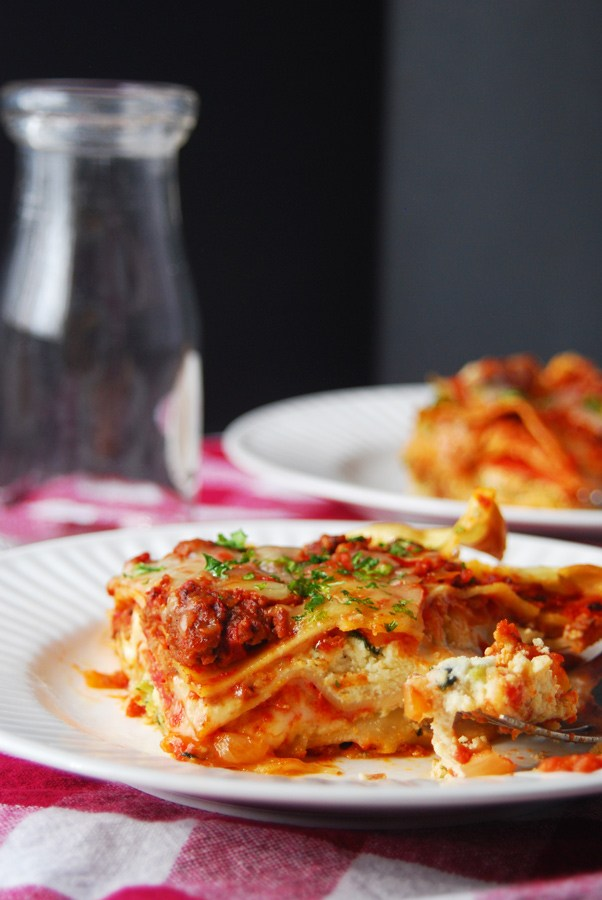 Simple Country Recipes from Longbourn Farm best homemade lasagna