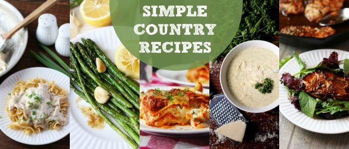 Simple Country Recipes from Longbourn Farm