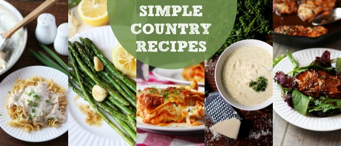 Simple Country Recipes from Longbourn Farm on Rainbow Delicious