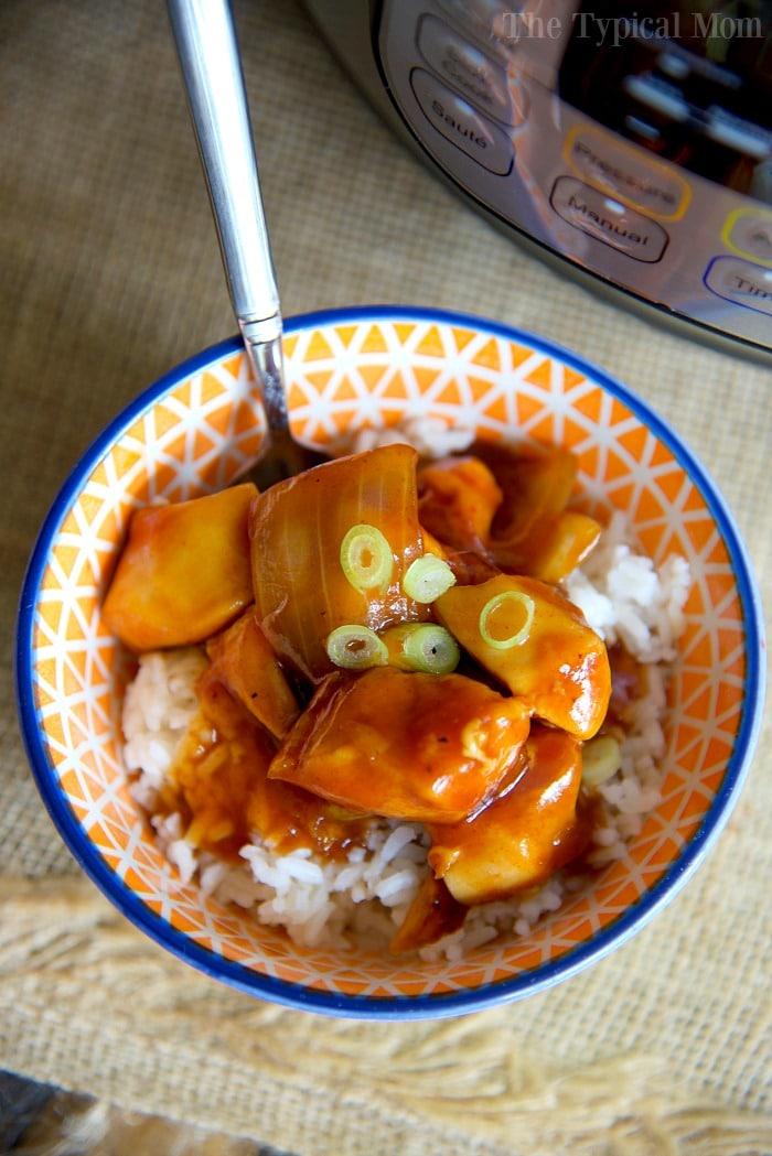 Top 10 Instant Pot Pressure Cooker Recipes- Instant Pot Orange Chicken