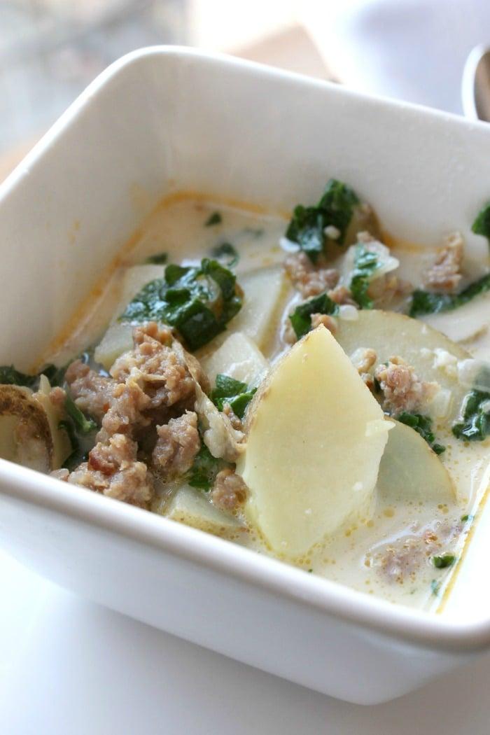 Top 10 Instant Pot Pressure Cooker Recipes- Instant Pot Zuppa Toscana