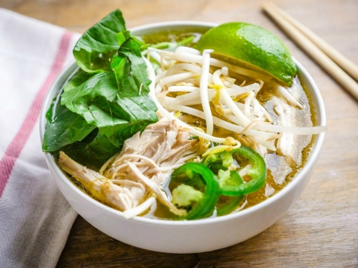 Top 10 Instant Pot Pressure Cooker Recipes- chicken faux pho