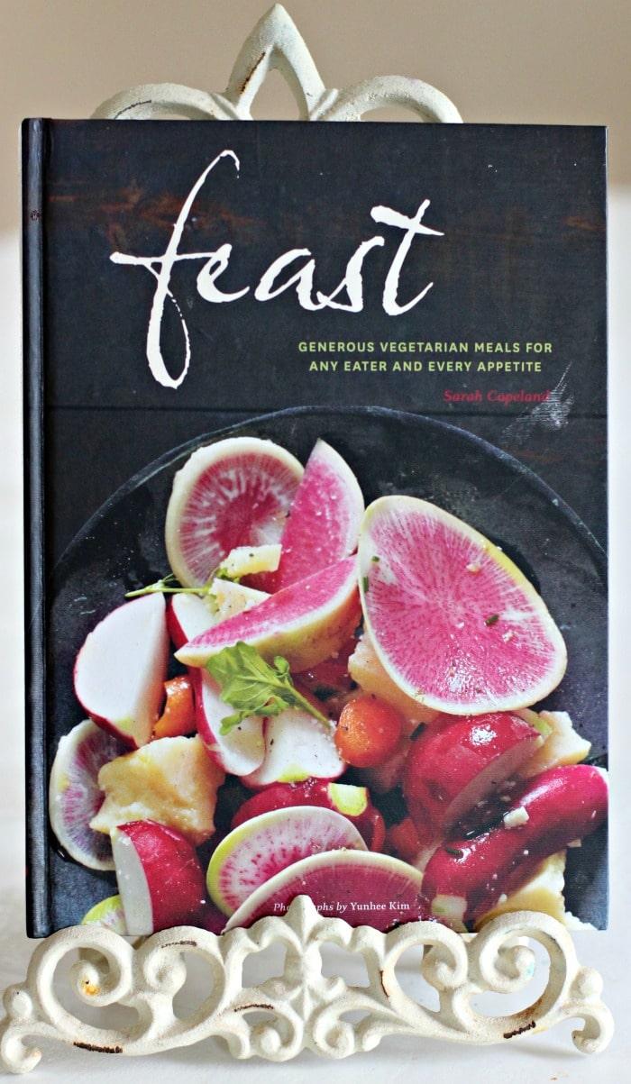 Vegetarian Ragu Pasta Recipe from Feast Cookbook- book