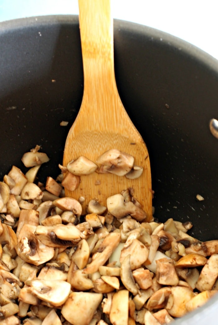 Vegetarian Ragu Pasta Recipe from Feast Cookbook- mushrooms