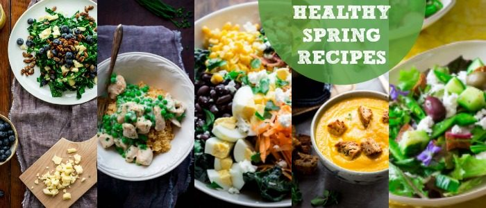 Healthy Spring Recipes Meal Plan from Healthy Seasonal Recipes