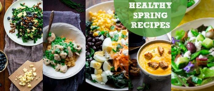 Healthy Spring Recipes on Rainbow Delicious