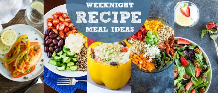 Weeknight Recipes Meal Plan with Culinary Hill