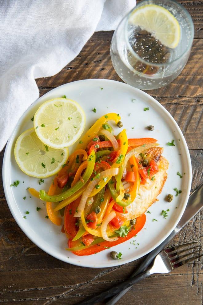 weeknight recipe meal ideas- pan fried tipalia