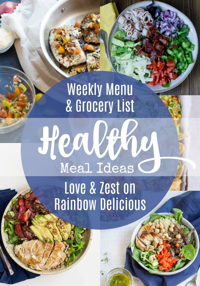 Healthy Meal Ideas from Love and Zest
