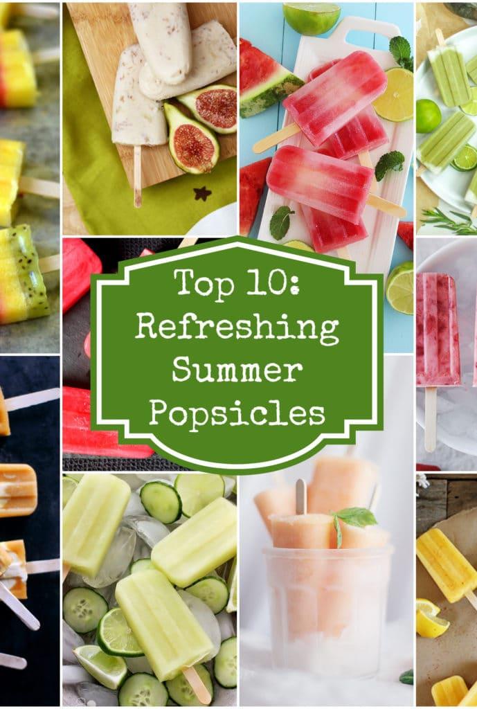 Top 10 popsicles Rainbow Delicious