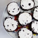 Berry OREO® Ice Cream Cake Recipe slice the roll