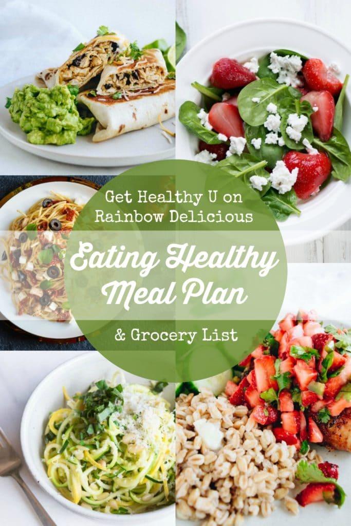 Get Healthy U on Rainbow Delicious