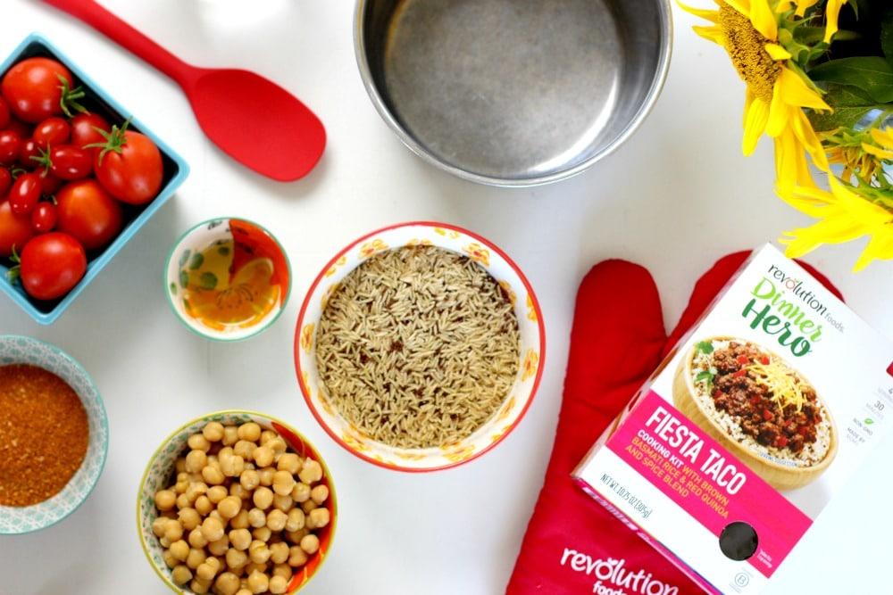 Top 10 Back to School Meal Planning Tips Dinner Hero Kit Ingredients
