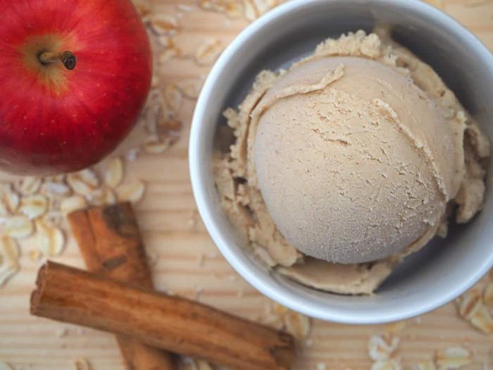 Apple Oatmeal Ice Cream - Unique Oatmeal Recipes
