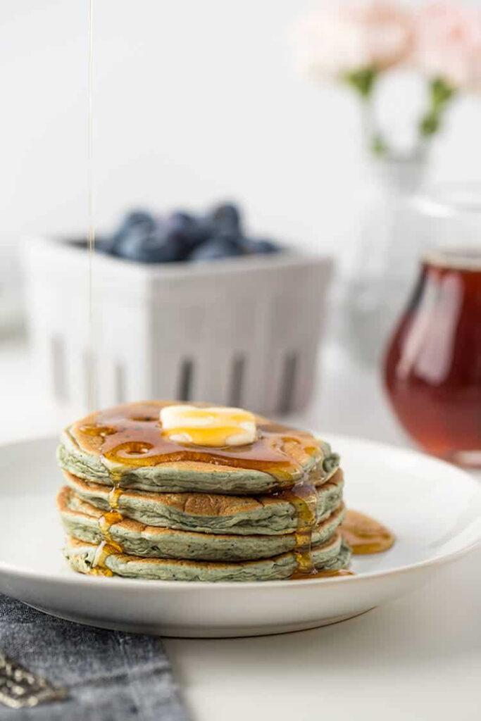 Leftover Oatmeal Blender Pancakes - Creative Oatmeal Recipes