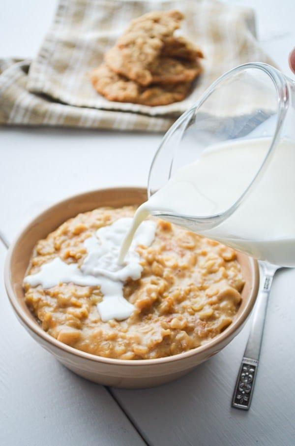 Peanut Butte Oatmeal -Creative Oatmeal Recipes