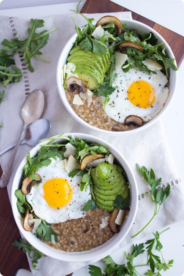 Savory Oatmeal with Egg Creative Oatmeal Recipes