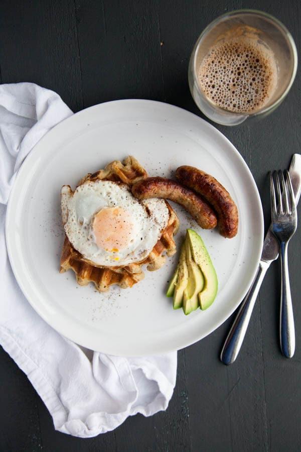 Weeknight Breakfast for Dinner Ideas: Sweet Potato Waffles