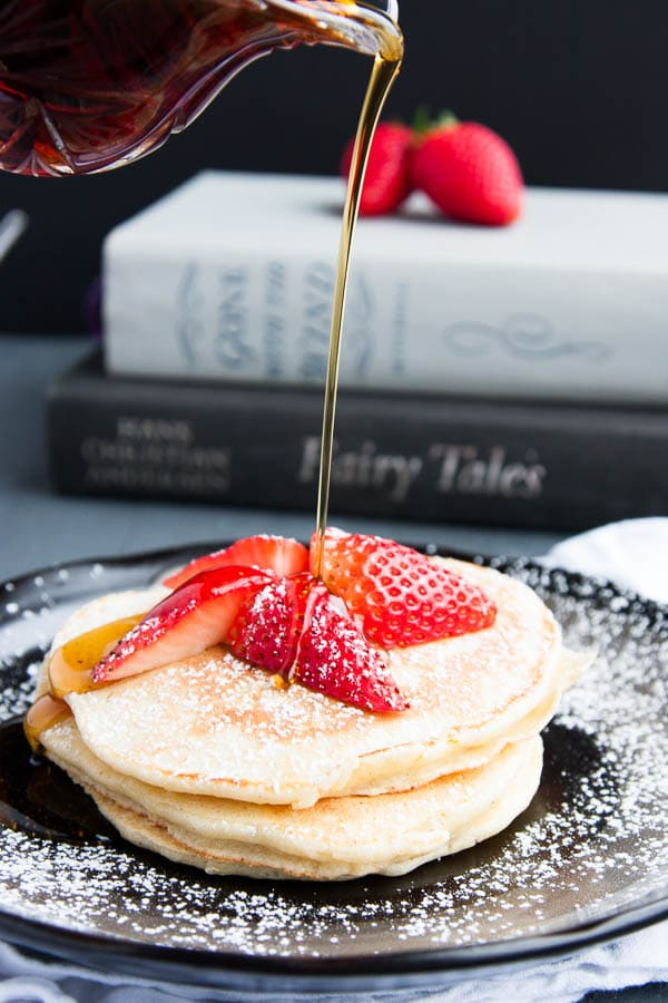 Weeknight Breakfast for Dinner Ideas: Lemon Ricotta Pancakes