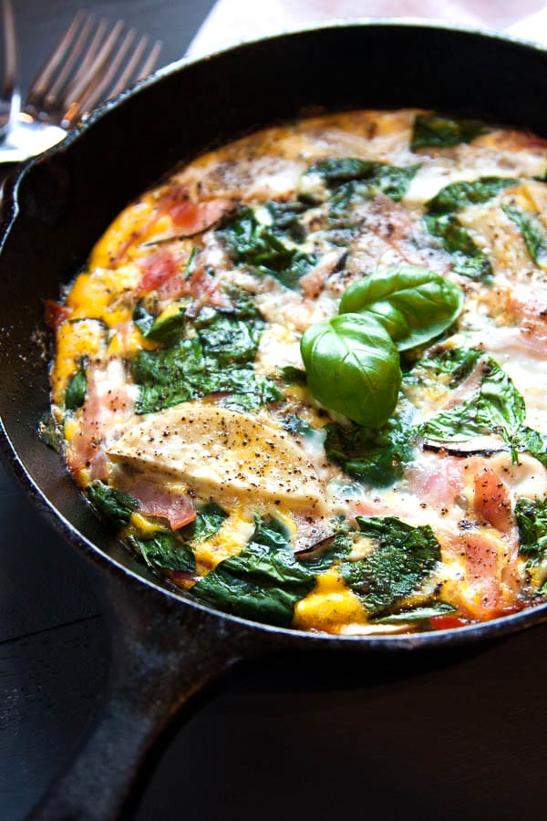 Weeknight Breakfast for Dinner Ideas: Frittata