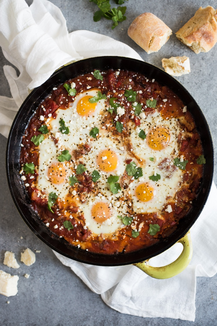 Gluten Free Low Carb Meal Plan: Easy Chipotle Shakshuka