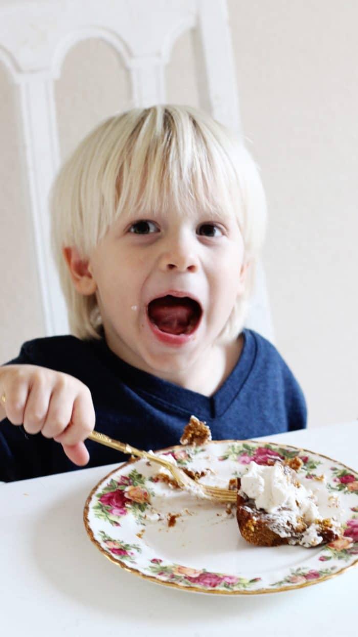Gluten Free Sugar Free Pumpkin Pie Recipe kid approved e1511067527961