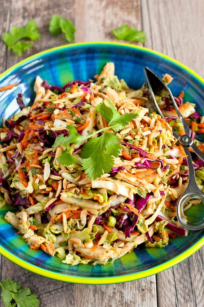 Chicken Salad Recipes Meal Plan - Thai Chicken Salad