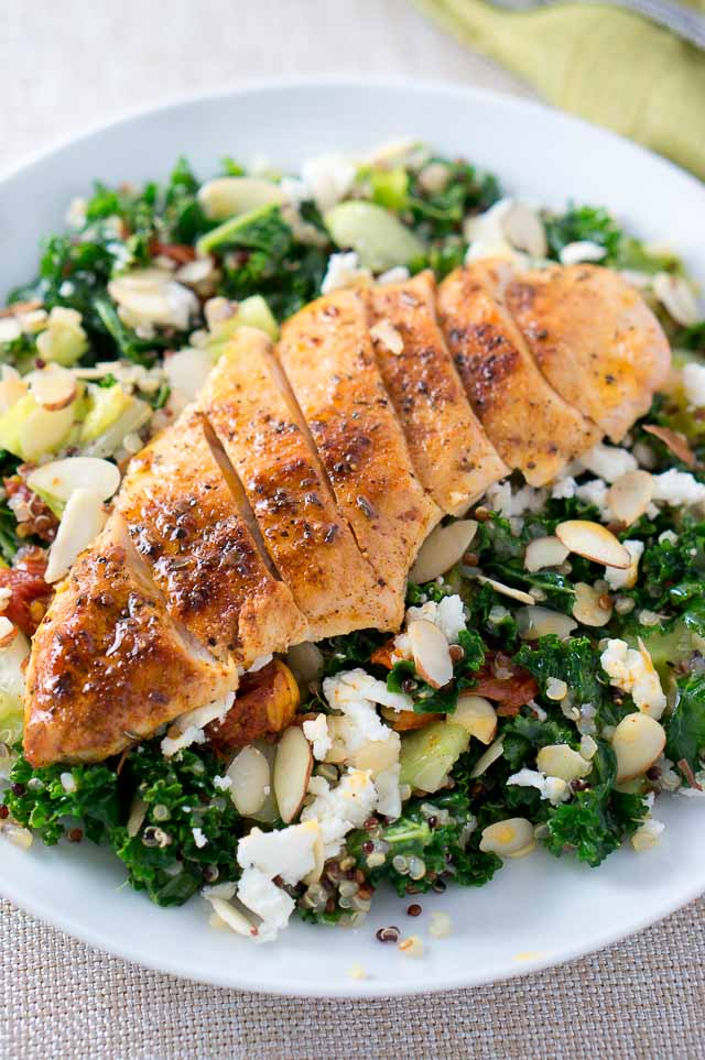 Chicken Salad Recipes Meal Plan - Chicken Quinoa Salad