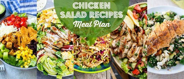 Chicken Salad Recipes Meal Plan
