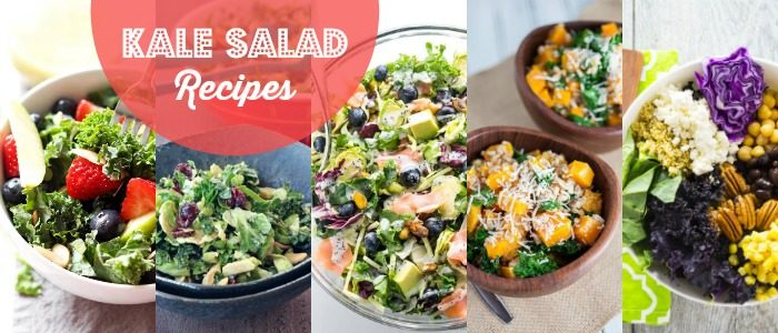 Kale Salad Recipes Meal Plan