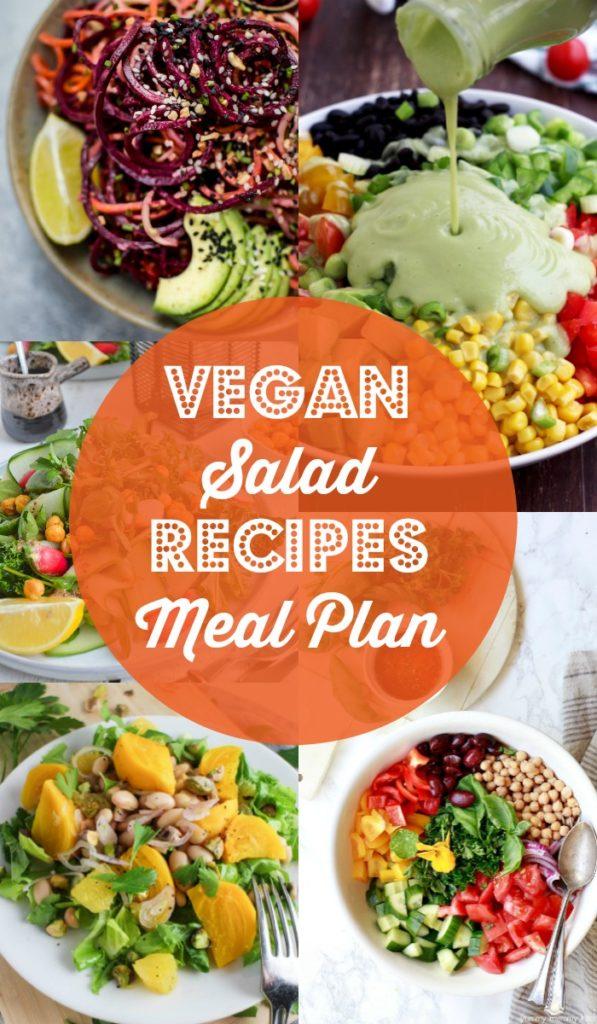 Vegan Salad Recipes Meal Plan