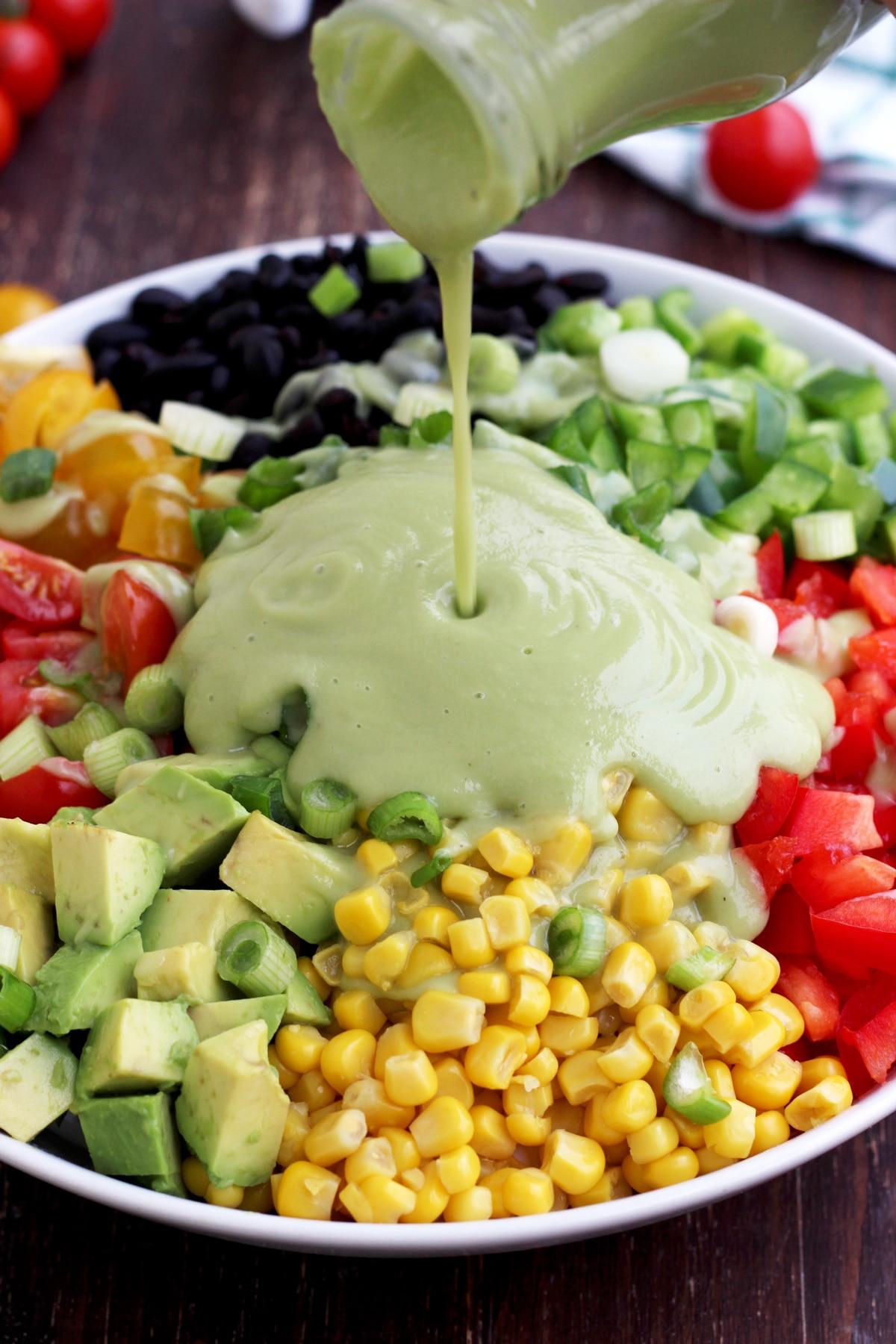 Vegan Salad Recipes Vegan Mexican Chopped Salad