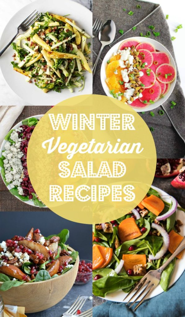 Winter Vegetarian Salad Recipes