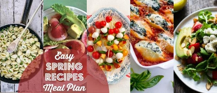 heathy easy spring dinner ideas