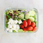 Lunch Meal Prep Greek Salad Bowl Recipe 1 bowl e1531764336779