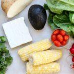 Ingredients Lunch Meal Prep Black Bean Jicama Salad Recipe