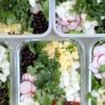 Lunch Meal Prep Black Bean Jicama Salad Recipe Rainbow Delicious