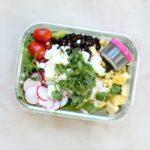 Lunch Meal Prep Black Bean Jicama Salad Recipe Square
