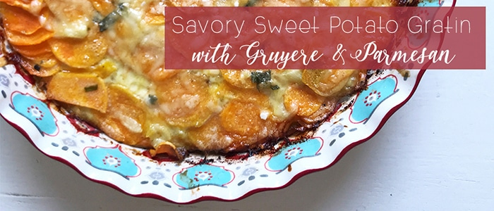 Savory Sweet Potato Gratin Featured Image