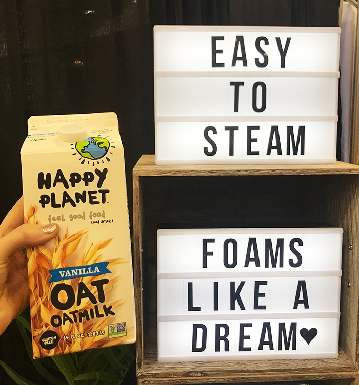 25 Fancy Food Show Faves - Happy planet Oat milk
