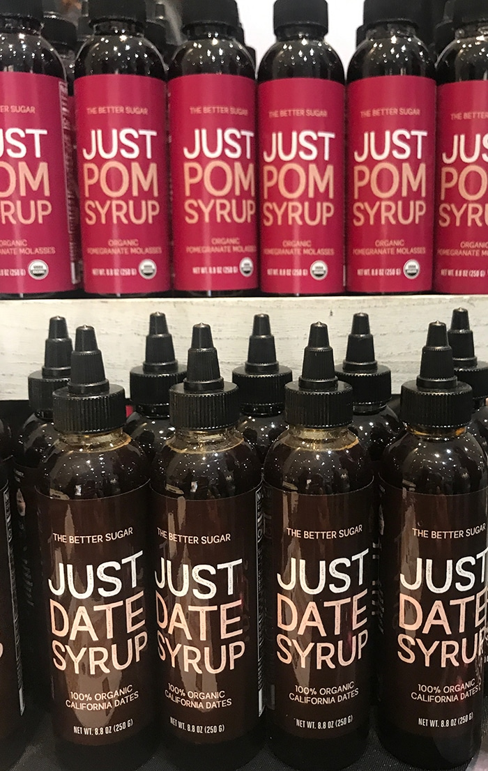 25 Fancy Food Show Faves - Just Pom and Just Date Syrup