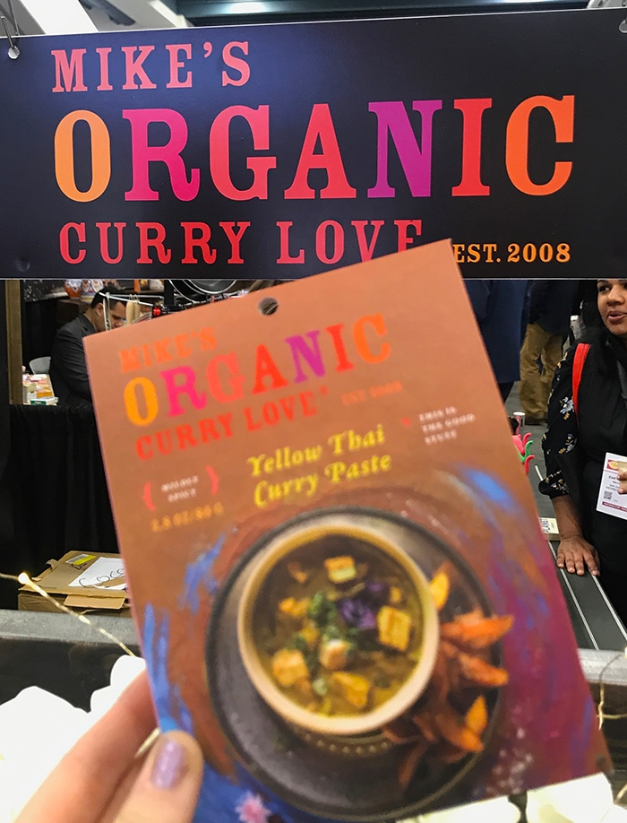 25 Fancy Food Show Faves - Mike's Organic Curry Love