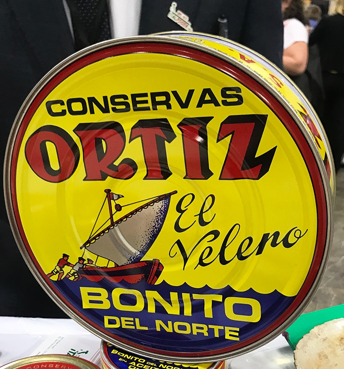 25 Fancy Food Show Faves - Ortiz Tuna